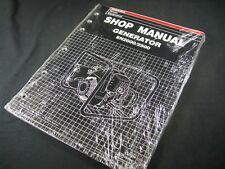Honda Generator EN2000 2500 Shop Service Repair Manual Book Catalog Guide