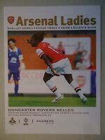 Programm England 2013/14 Arsenal Ladies - Doncaster Rovers Belles