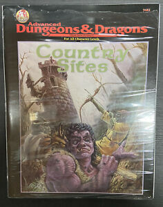 AD&D Country Sites TSR Teilweise Foliert