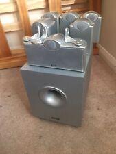 Tannoy EFX 5.1 / 7.1 Speaker System with Active Subwoofer & Stands