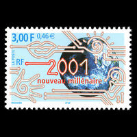 France 2000 - Turn of a Century - Sc 2788 MNH