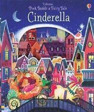 Peek Inside Cinderella, Usborne Fairy Tale, NEW Book