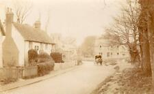Norton Three Horseshoes Pub Nr Letchworth RP old pc used 1915