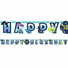 BATTLE ROYAL ADD AN AGE JUMBO LETTER BANNER HAPPY BIRTHDAY ROYALE
