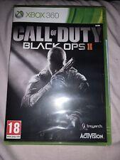 Xbox 360-Call Of Duty Black Ops 2-en Caja-Nuevo y Sellado