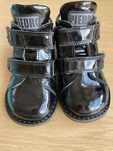 children' therapy Piedro boots, UK size 6.5, EUsize 23, width 5 1/2, orthopaedic