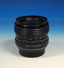 Porst 2.8/28mm MC Weitwinkel Auto H Objektiv lens für Pentax K - (90969)