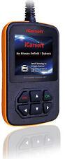 iCarsoft OBD2 OBDII Scanner Tool Code Reader ECU CEL for Nissan Infiniti Subaru