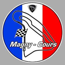 MAGNY-COURS AUTODROME CIRCUIT RACING TRACK AUTOCOLLANT STICKER 9cm MB033