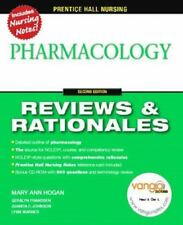 Prentice-Hall Reviews & Rationales: Pharmacology Mary Ann Hogan Paperback c CD