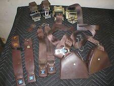 1982-92 Camaro Firebird Briar Chocolate Brown  Set Seat Belts 1982 83 84 85 86