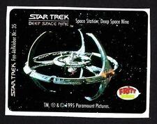 Star Trek Deep Space Nine Space Station TV Series German Fritt Candy Sticker #35