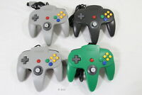 Tested! Little Loose Stick Lot of 4 Original Nintendo 64 Controller Pad Gray