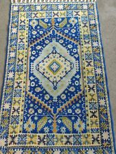 Small Blue Rug 2.8x4.3 ft