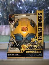 Transformers BumbleBee Voice Changer Helmet. New. Unopened.