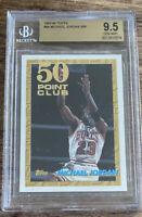 1993-94 Topps 64 50 Point Club Michael Jordan Chicago Bulls   BGS 9.5 GEM MINT