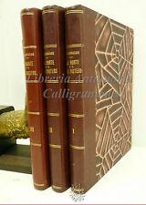 CAMILLO FLAMMARION: La Morte e il suo mistero 1937 Sonzogno 3 volumi RARO
