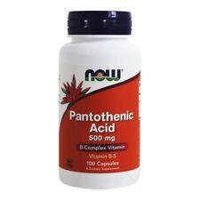 NOW Foods Pantothenic Acid 500 mg., 100 Capsules