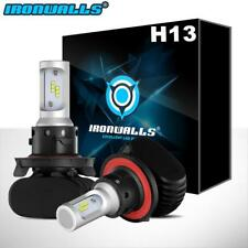 H13 9008 243000LM CSP LED Headlight Conversion Kit Dual Hi-Lo Beam Bulb 6000K
