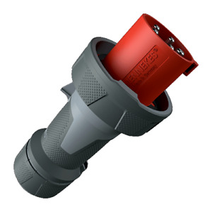 Mennekes PowerTOP Xtra 125a 400V 5 Pin IP67 Industrial Plug 13225