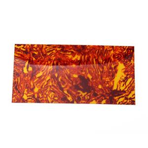 Sunset Glow Celluloid Guitar Head Veneer Shell Sheet