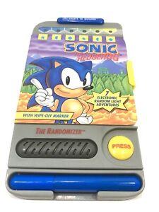 "Sonic The Hedgehog ""The Randomizer"" Handheld Electronic Game Vintage 1993"