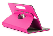"""DOMO nCase B9 Cover Carrycase For 7"""" Tablet 360 Deg Rotate Camera Hole Dark Pink"""