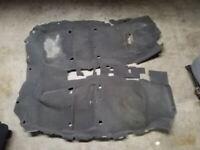 Grey Front / Back Carpet Floor | Fits 07 08 09 10 11 12 Nissan Sentra