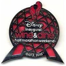 WINE & DINE INAUGURAL HALF MARATHON OCT 2010 LE 3000 WDW Disney PIN 80646
