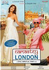 NAMASTEY LONDON - ORIGINAL EROS BOLLYWOOD DVD - Akshay Kumar, Katrina Kaif.
