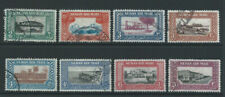 More details for sudan 1950 sg115/22 set of 8 - air mail - fine used. catalogue £30