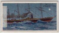 1838 SS Great Western Paddle-Wheel Steamship Atlanting Cross 100+ Y/O Trade Card
