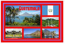 Guatemala - Recuerdo Original Imán de Nevera - Monumentos/Ciudades/Banderas/