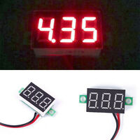 LCD Digital Panel Voltmeter DC 18-70V Blue backlingt DC Monitor voltage meter