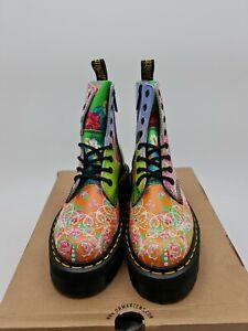 Dr. Martens JADON DAZE leather chunky quad platform boots UK 3 EU 36