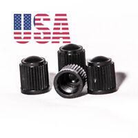 USA (10 PACK) Black Plastic Auto Car Bike Motorcycle Truck Tire Valve Stem Caps