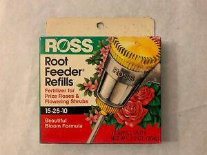 Ross Rose & Flowering Shrubs Fertilizer Refills for Ross Root Feeder, 15-25-10