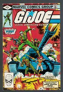 Marvel Comics GI Joe 1 1st appearance Snakes Eye 9.2 N/Mint- 1982 American Hero