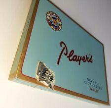 Vintage Players Navy Cut Cigarettes Tin mild Blue tobacco metal case
