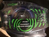 KIT CAVI IPNOSIS 1008 AMPLIFICATORE AUTO RCA ALIMENTAZIONE SUBWOOFER CABLAGGIO