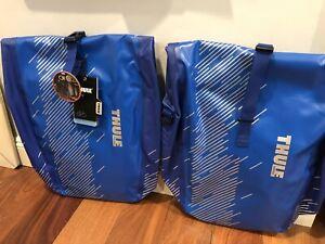 NEW Thule Shield Waterproof Pannier (Pair) Large 25L Cobalt Blue