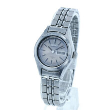 Seiko 2206-0760 Silver Stainless Steel Hand-Wound Silver Dial Secondhand