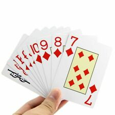 Waterproof Plastic Playing Cards Poker Deck Pvc Coated Card Set Table Board Game