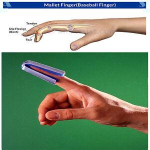 OPPO 4283 Open Thimble Splint Baseball Finger Thumb Support Brace Metal DIP