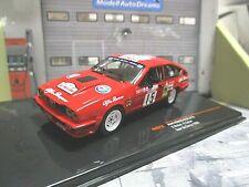 ALFA ROMEO GTV GTV6 Coupe Rallye TdC 1986 #15 Balas RAC319 IXO NEU 1:43