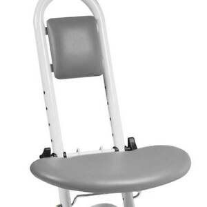 Drive Adjustable Height Non Slip Steel Folding Ironing Perching Stool Chair Seat