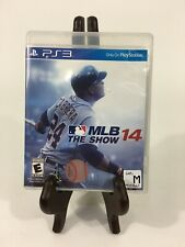 MLB 14: The Show (Sony PlayStation 3, 2014) Baseball PS3 Missing Manual