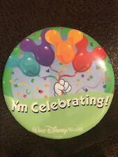 "Walt Disney World ""I'm Celebrating"" Pin"