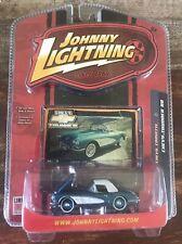 JOHNNY LIGHTNING Chevy Thunder - Blue 1958 Chevy Corvette ~1/64