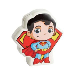 Dc Comics Superfriends Superman The Man De Acier Monnaie Banque Neuf avec Boîte